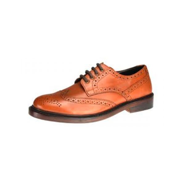 Tan-Brogues