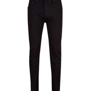 Black_Stretch_Tappered_Jeans